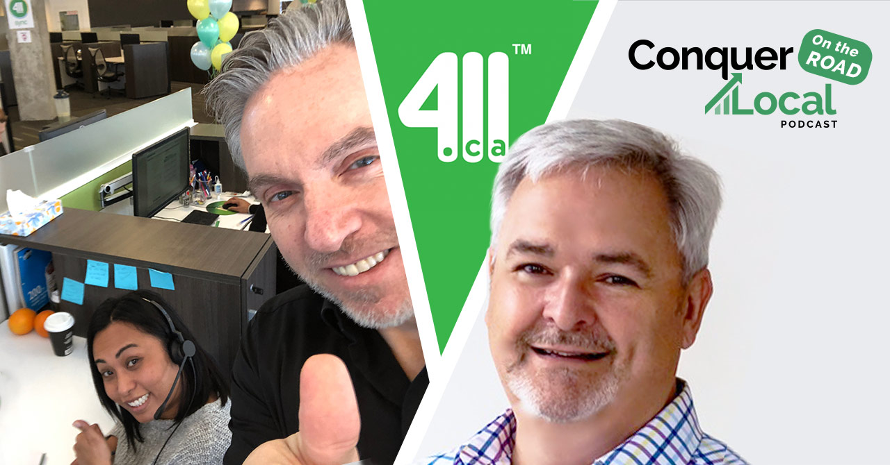104: Motivating Salespeople & Pivoting to Needs-Based Selling — with Mike Giamprini of 411.ca